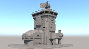 3D modular outpost