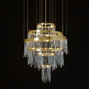 chandelier babe 3D model