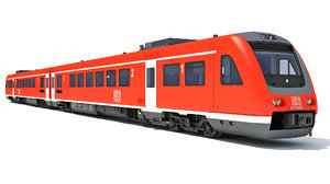 3D siemens desiro class 642