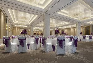 3D hall interiors model