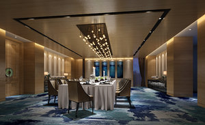 dinning room interiors 3D