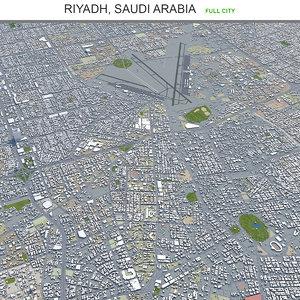 city area building 3D