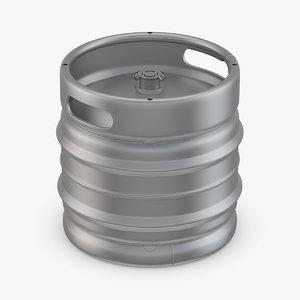 3D model keg beer