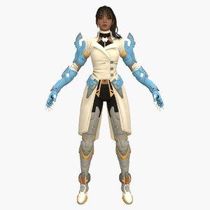 cyber iris 3D model