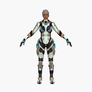 3D cyber hestia model