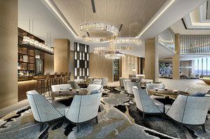 reception center interiors model