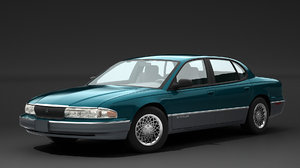 chrysler new yorker 3D