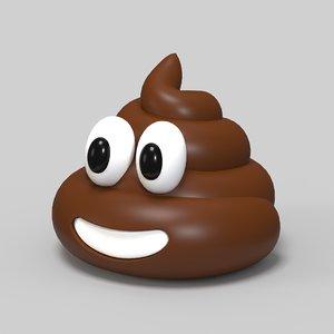 poop emoji 3D