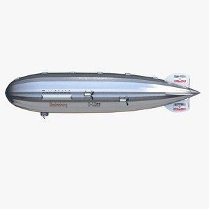 zeppelin hindenburg model