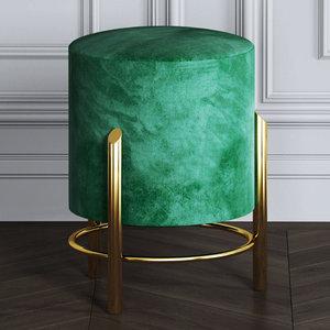 3D boston stool model