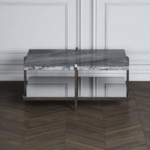 3D bristol coffee table model