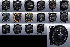 asset pack flight instruments model