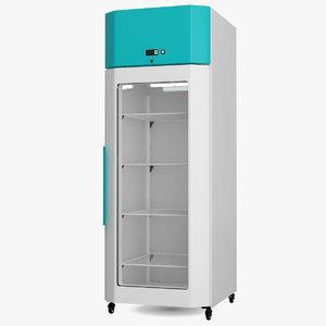 3D cooled incubator 570l model