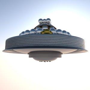 ufo pleiadian spheres model