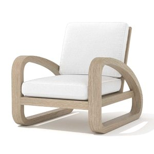 3D chair pascal rests