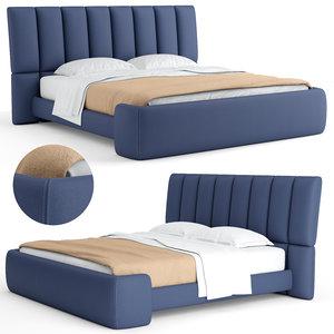 v-ray briq bed 3D model