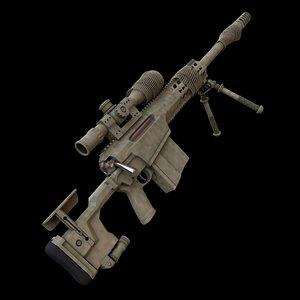 sniper rifle model