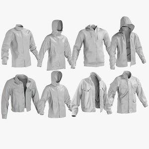 mesh jackets 9 - 3D model