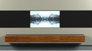 decor furniture room 3D model