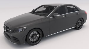 mercedes benz c-class sedan 3D model
