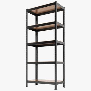 storage rack warehouse model