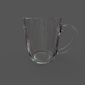 3D model pasabahce basic mugs 350ml