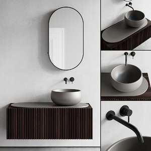 3D vanity washbasin mirror