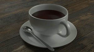cup spoon 3D