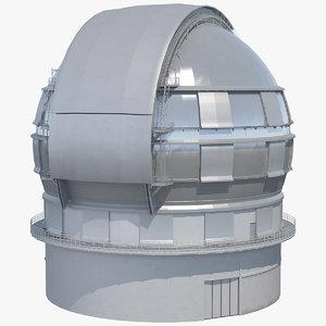dome telescope model
