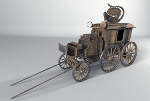 wagon ratcatcher 3D model
