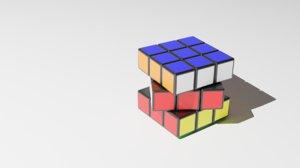 rubic s cube 3D model