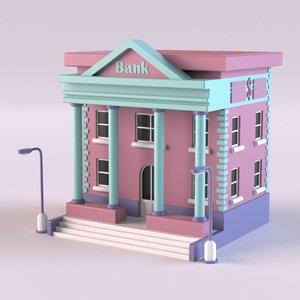 3D model bank 02