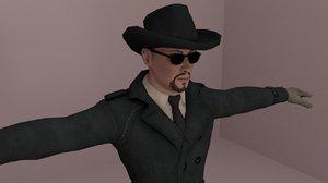 3D character mafia