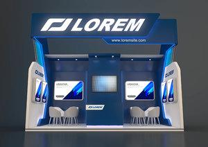 exhibit expo 3D model