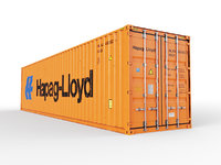40 ft High Cube Hapag Lloyd shipping container