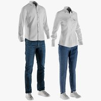 Men's and Women's Casual Clothing 1