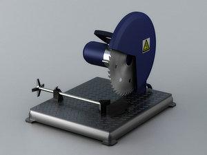 electric saw circular armrest 3D