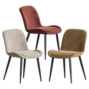 3D eurway mirabelle chair model