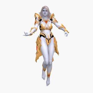 nyx goddess 3D model