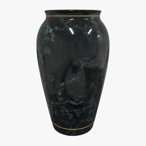3D vase decoration model