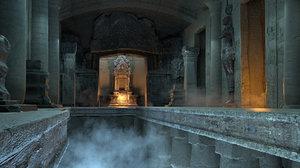 temple lost civilization 4 3D model