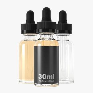 30ml bottle 3D model
