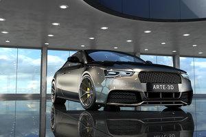 3D model interior scene 14 c