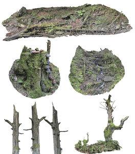 forest asset pack hd 3D
