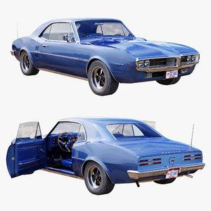 pontiac firebird car 3D model