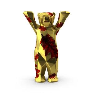 3D model buddy bear
