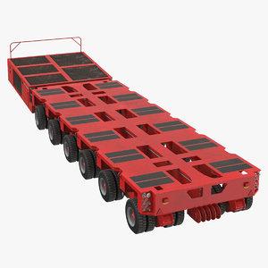 3D 6 axle lines modular