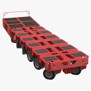 6 axle lines modular model