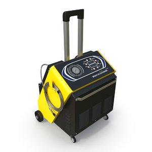 brake oil exchanger 3D