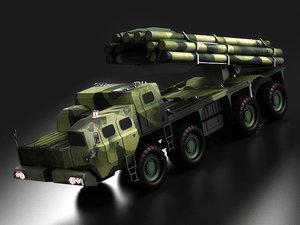 tornado bazooka bm-30 land-based 3D model